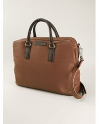 Marc By Marc Jacobs Brown Zwart Briefcase - Lyst