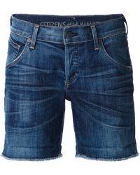 Citizens of Humanity Denim Shorts - Lyst