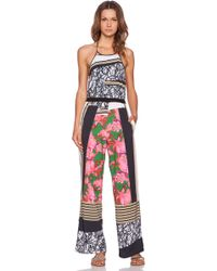 Clover Canyon - Scribble Scarf Jumpsuit - Lyst