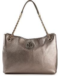 Tory Burch Metallic Shoulder Bag - Lyst
