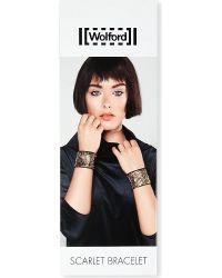 Wolford - Scarlet Beaded Cuff Bracelet - Lyst