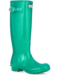 Hunter Original Gloss Rainboots - Lyst