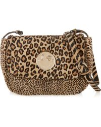 Hill & Friends - Happy Mini Animal-print Calf Hair Shoulder Bag - Lyst