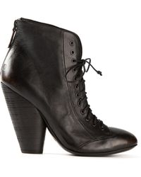 Marsell Chunky Heel Lace-up Boots - Lyst