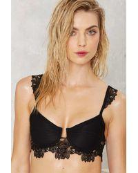 Nasty Gal | For Love & Lemons Barcelona Lace Bikini Top | Lyst