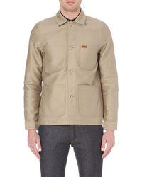 Carhartt Fynn Cottontwill Shirt Jacket Beige - Lyst