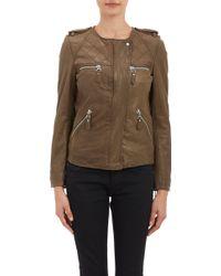 Etoile Isabel Marant Green Kady Jacket - Lyst