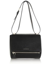 Givenchy Medium Pandora Box Bag in Black Leather - Lyst