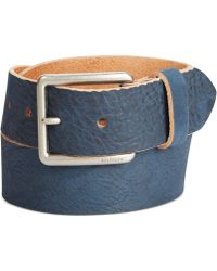 Tommy Hilfiger Leather Belt - Lyst
