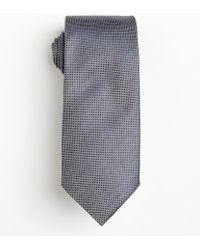 Hugo Boss Dark Blue Silk Microcheck Tie - Lyst