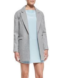 Cameo - No Light Contrast-Back One-Button Coat - Lyst