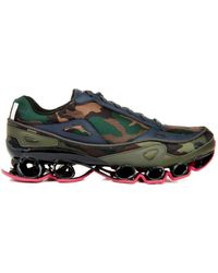 Raf Simons X Adidas Bounce Camouflage Trainers - Lyst
