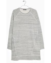 Mango Flecked Striped Dress - Lyst