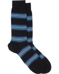 Richard James Stripe Mid-calf Socks - Lyst