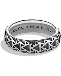 David Yurman Frontier Band Ring - Lyst