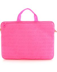 """Marc By Marc Jacobs - Adults Suck Neoprene 15"""" Commuter Bag - Knockout Pink - Lyst"""
