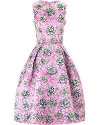 Mary Katrantzou Astere Dress Embellished Lucky Strike - Lyst