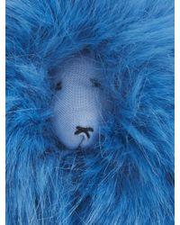 00d2f1c0e742 Shrimps - Lenny Mascot Faux-Fur Bag Charm - Lyst
