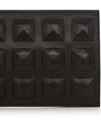 Karen Millen Giant Stud Clutch black - Lyst