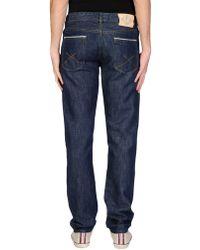 C P Company - Denim Trousers - Lyst