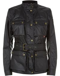 Belstaff Roadmaster Waxed Jacket - Black