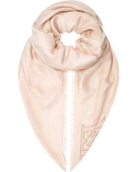 ESCADA - Embroidered Scarf - Lyst