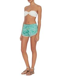 Paloma Blue - Jade Silk Short - Lyst