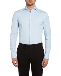 Hugo Boss Jason Slim Fit Basic Stretch Shirt - Lyst