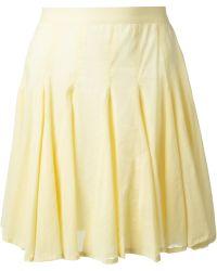 Uke Pleated Skirt - Lyst