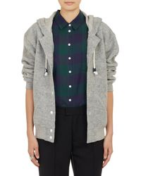 Band Of Outsiders Hooded Varsity Jacket - Lyst