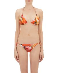 b4db4148335476 Givenchy - Flower & Butterfly-print Bikini Set - Lyst