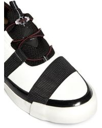 Paul Smith Buck Toggle Drawstring Leather Slipons - Lyst