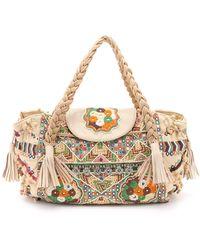 Shashi - Nala Carryall Bag - Natural - Lyst
