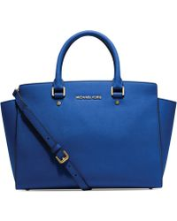 Michael Kors Michael Selma Large East West Satchel - Lyst