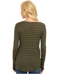 Splendid Striped Pullover - Lyst