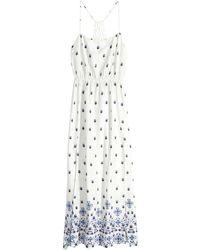 H&M Patterned Maxi Dress - Lyst