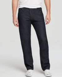 Raleigh Denim Jeans - Alexander Straight Fit In Blue - Lyst