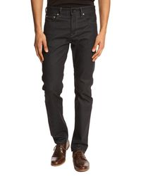 Filippa K Samuel Raw Denim Blue Slim Jeans - Lyst