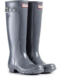 Hunter Tall Gloss Rain Boot - Lyst
