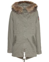 True Religion Military Cotton Parka - Lyst