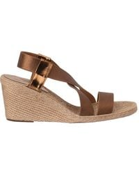 Andre Assous Paloma Bronze Fabric - Lyst