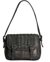 Cashhimi Bleecker Python Handbag - Lyst