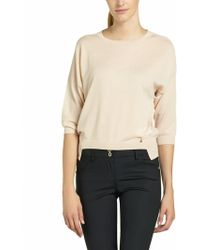 Patrizia Pepe Threequarter Length Sleeves in Cashmere - Lyst