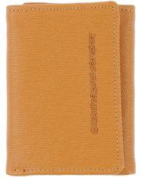 Wesc Wallet orange - Lyst