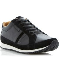 Lacoste Mortain Lace Up Runner Trainers - Lyst