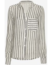 A.L.C. Troy Stripe Pattern Blouse - Lyst