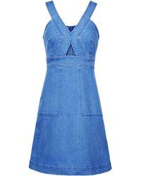 Stella McCartney Denim Dress - Lyst