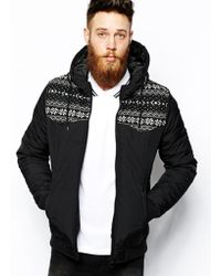 Asos Quilted Jacket - Lyst