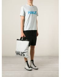 Haus By Golden Goose Deluxe Brand - Logo-Print Tote Bag - Lyst