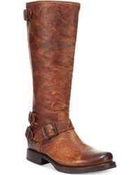 Frye Womens Veronica Back Zip Tall Boots - Lyst